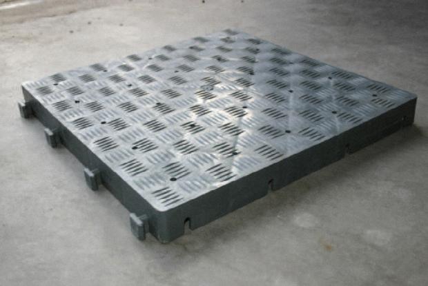 Kunststof Terrastegels 50x50.Uitgelicht Product De Kunststof Pe Vloerplaat De